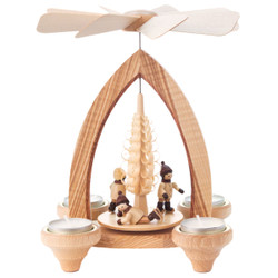 Natural Winter Kids German Carousel Pyramid PYD085X624