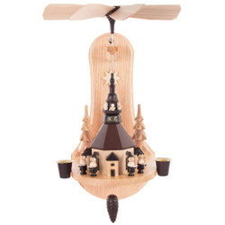Wall Natural Seiffen Kids German Carousel Pyramid PYD085X288