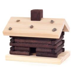 Mini Log Hut Cabin German Smoker SMD146X290X1