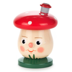 Mini Face Dotted Red Mushroom German Smoker SMD146X010