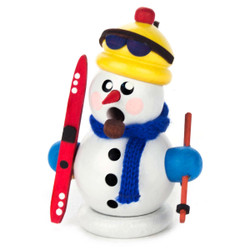 Mini Snowman Christmas Ski German Smoker SMD136X172