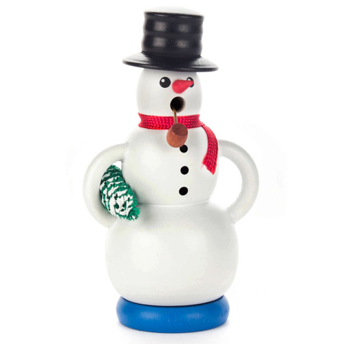 Mini Snowman Christmas Tree German Smoker SMD146X331BM