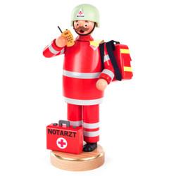 Emergency EMT Red German Smoker SMD146X1526