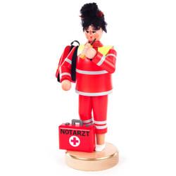 Female Emergency EMT Red German Smoker SMD146X1526X1