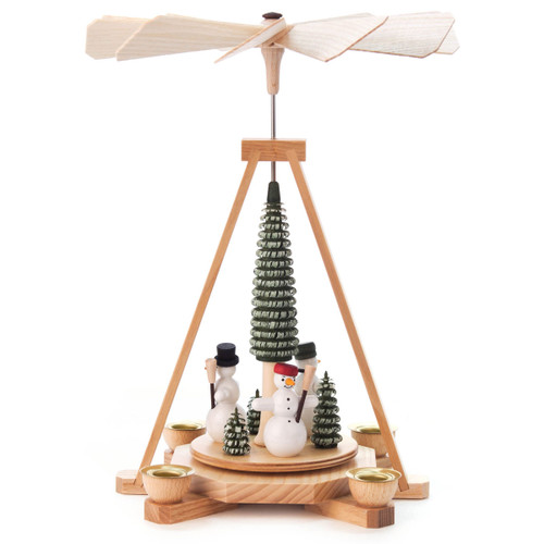 Snowmen Christmas Tree German Pyramid PYD085X509