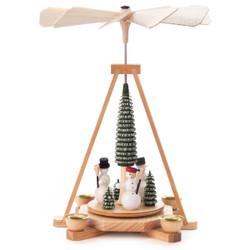 Snowmen Christmas Tree German Pyramid PYD085X509
