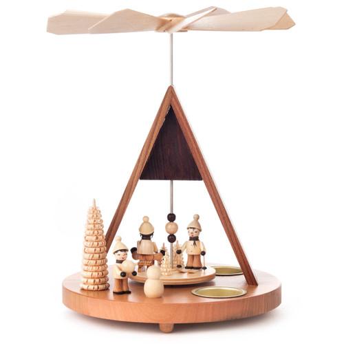 Holiday Ski Winter Sport Kids Pyramid Tea Light PYD085X772