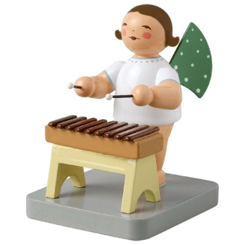 Brunette Wendt Kuhn Angel Xylophone Figurine FGW650X72-DK