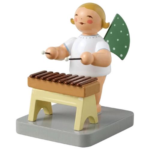 Blonde Wendt Kuhn Angel Xylophone Figurine FGW650X72