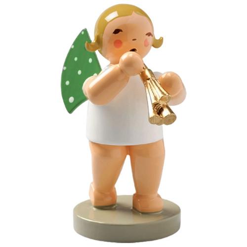 Blonde Wendt Kuhn Angel Shawm Figurine FGW650X75
