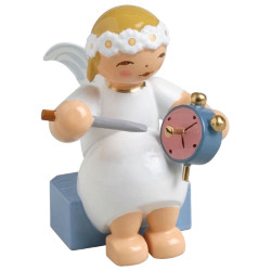 Goodwill Snowflake Marguerite Angel Alarm Clock Wendt Kuhn FGW634X70X27