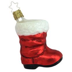 Stocking Ornament Red ORGA020X10