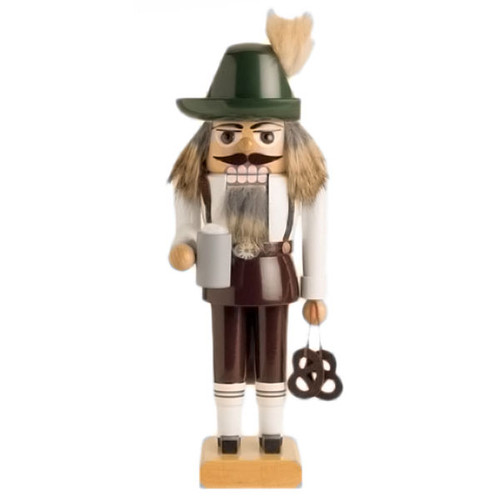 Bavarian Pretzel Beer German Nutcracker NCK193X08