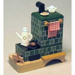 Fireplace Stove German Smoker