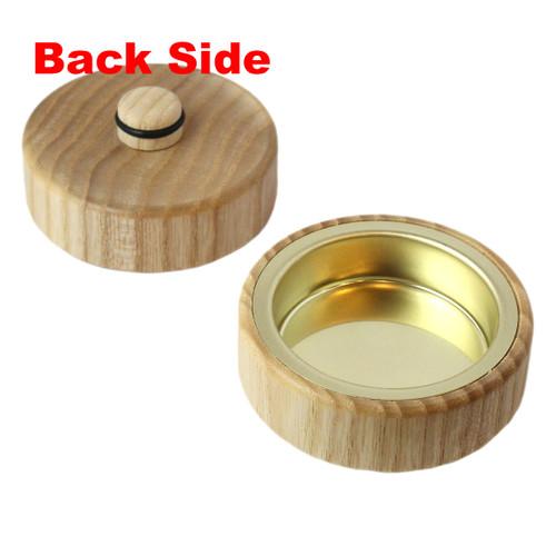 Pyramid Natural Wood Tealight Converter Candleholder RPCHE085X000U