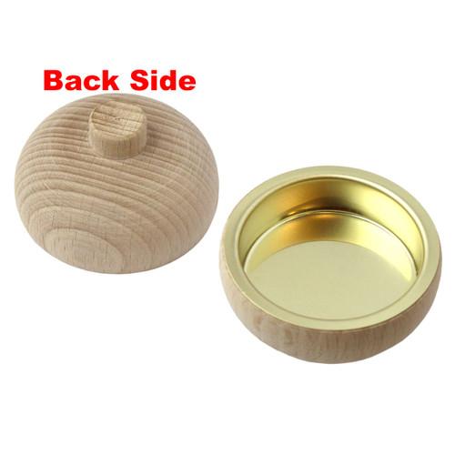 Pyramid Natural Wood Tealight Converter Candleholder RPCHE085X000RE