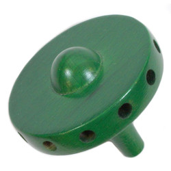 "Replacement Hub 2"" Green 12 Holes - 5mm / 1mm"