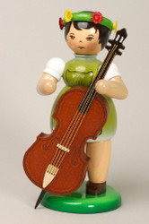 Girl Playing Bass Figurine