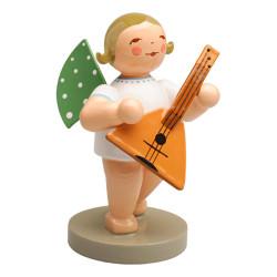 Blonde Angel Balalaika Figurine Wendt Kuhn Standing