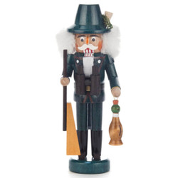 Mini Hunter Duck German Nutcracker NCD071X110T