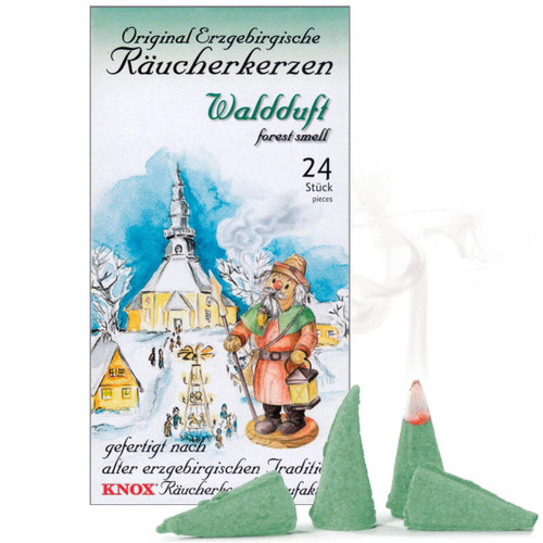 Knox Forest Scent German Incense 24 per Box - Waldduf - IND146X0033