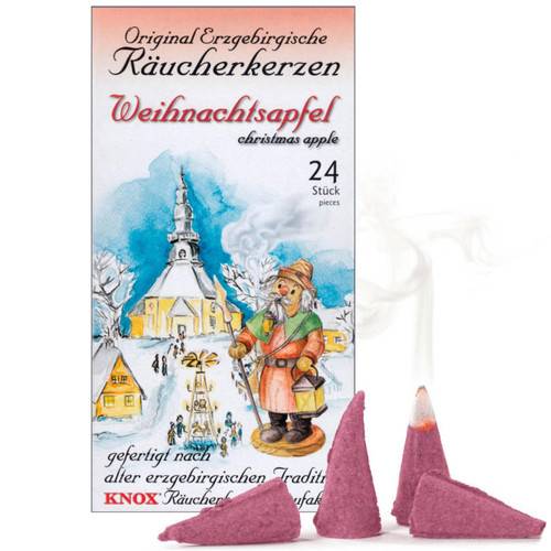 Knox Christmas Apple German Incense 24 per Box - Weihnachtsapfel - IND146X0057