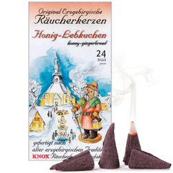 Knox Honey Gingerbread German Incense - Honig-Lebkuchen - 24 per Box IND146X0026