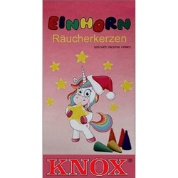 Knox Unicorn Fruit German Incense 24 per Box - Einhorn - IND146X0013