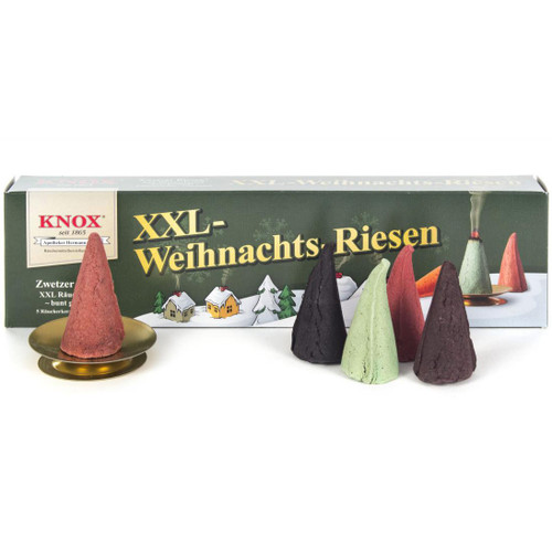 KNOX German Incense Candles XXL - Christmas Giant IND146X09