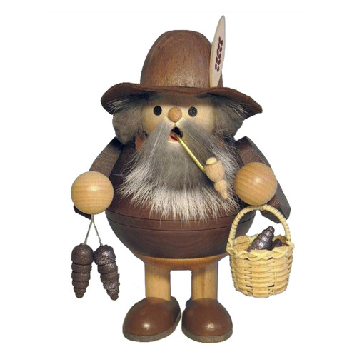 Little Old Man with Forest Pine Cones German SmokerSMR264x77