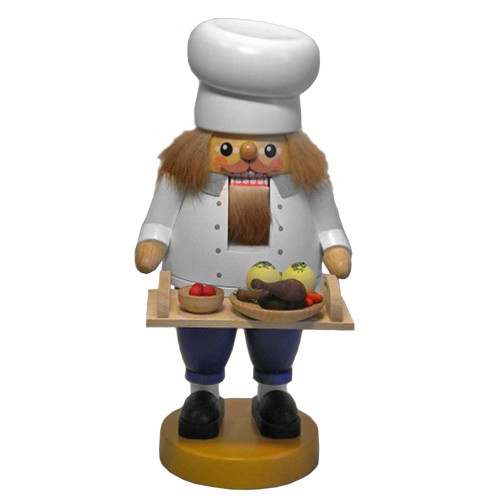 Chef with Dinner Tray German Nutcracker NCR626X25