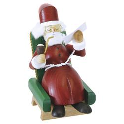 Santa in his Chair German Smoker SMR260X24