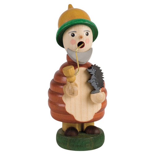 Forest Gnome with Porcupine German Smoker SMR263X27