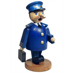 Richard Glaesser Mini Pilot in Blue German Incense Smoker