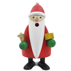 Richard Glaesser Mini Santa Ringing Bell German Smoker