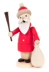 Mini Wooden German Santa Ruprecht Smoker SMD136X510