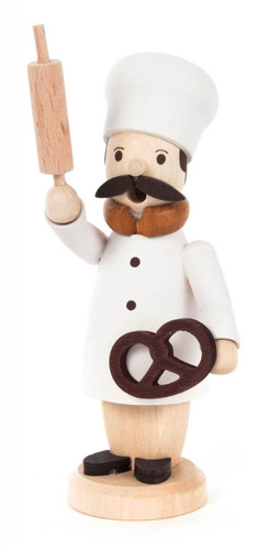 Mini Oktoberfest Pretzel Baker Wooden German Smoker SMD136X511