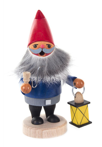 Gnome Holding a Lantern Incense Smoker SMD146X1815X7