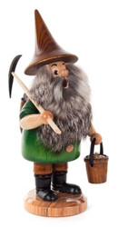 Miner Bearded Gnome Incense German Smoker SMD146X0434