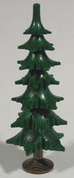 Green Tree Figurine Trunk Seven Levels