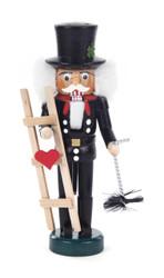 Miniature Lucky Chimney Sweep German Nutcracker NCD071X116