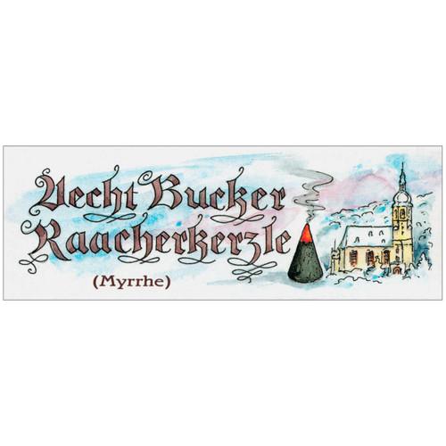 Myrrhe Scent Bucker German Incense Candles Medium