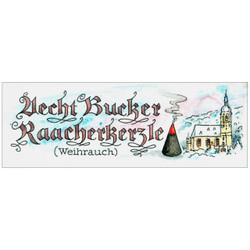 Frankincense Scent Bucker German Incense Candles Medium