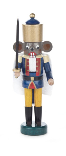 Miniature Mouse King German Nutcracker  NCD071X187