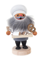 Baker Gnome with Pretzel Incense Smoker  SMD146X1816X4