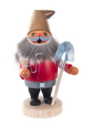 Happy Gnome with Shovel Incense Smoker  SMD146X1815X4