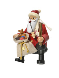 Sitting Santa with Gifts German Smoker SMK211X90