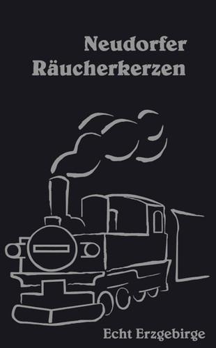 Train Steam Engine Neudorfer Huss German Incense IND147X016