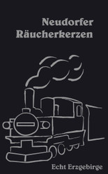 Train Steam Engine Neudorfer Huss German Incense IND147X016