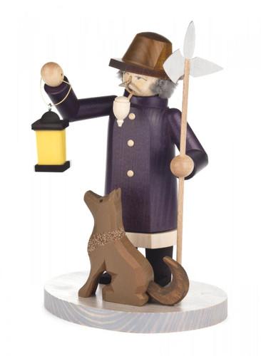 Night Watchman with Dog German Smoker  SMD146X1250
